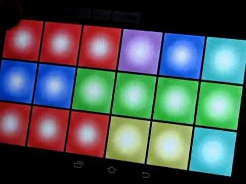 (old demo) DubPad Dubstep Buttons Android App