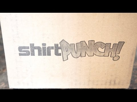 SHIRT PUNCH! - My First Order