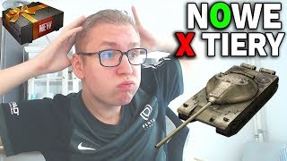 NOWE X TIERY i SPAM Czołgów Premium - World of Tanks