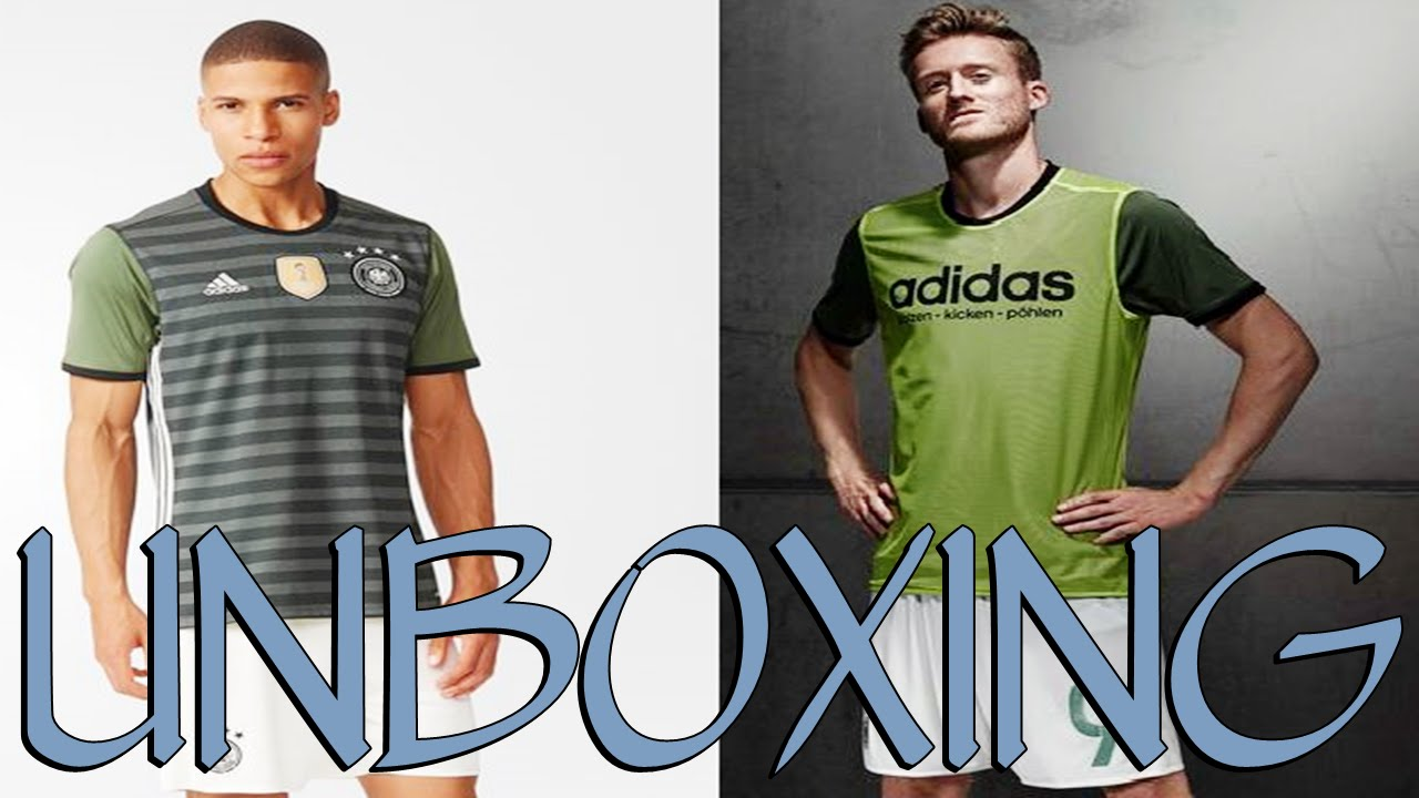 Unboxing Camisa Alemanha EURO 2016 Away Adidas (PT-BR) HD - YouTube 33d8f0e07ad4b