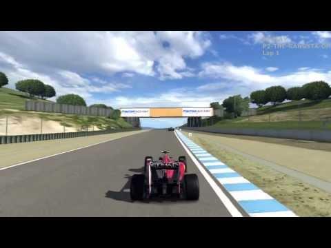 GT5 - Ferrari F10 Formula 1 World Championship S1 - Race 1 - Laguna Seca - 120311 (Commentary,globe)