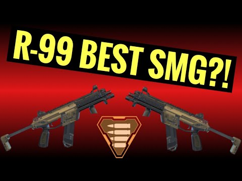 R-99 BEST SMG IN THE GAME?! - Apex Legends