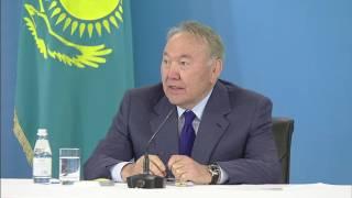 Что Назарбаеву показали в Южно-Казахстанской области