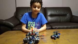 Lego Battleship and Space Car