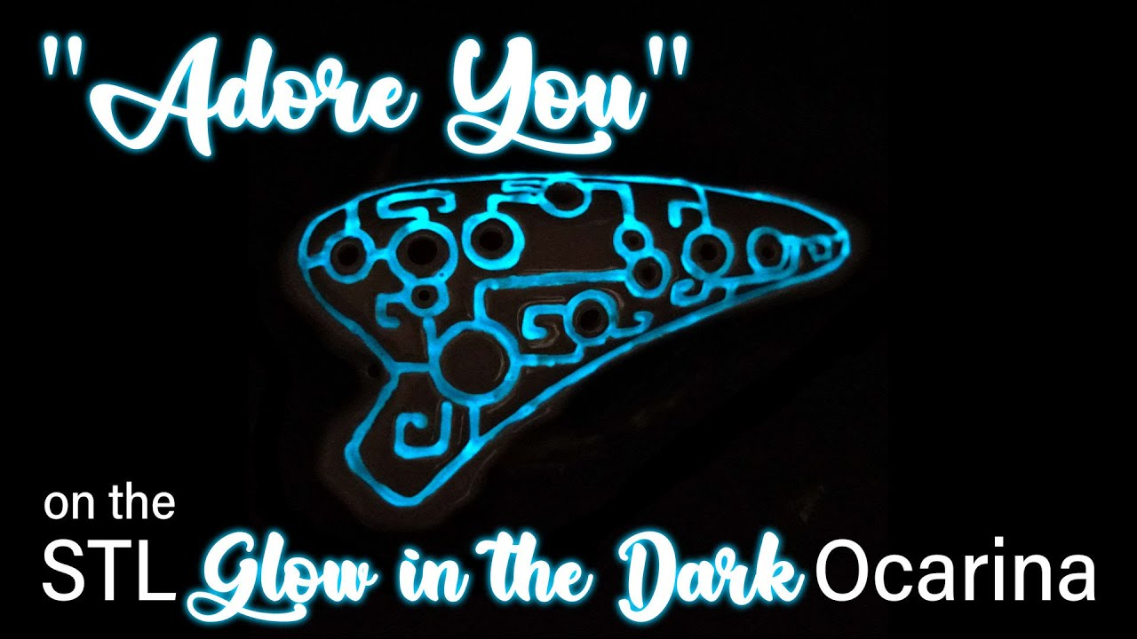 Adore You by Harry Styles on STL Glow in the Dark Ocarina