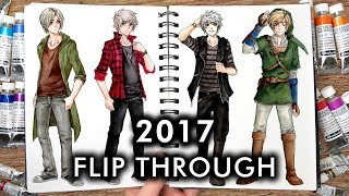 【Flipping through my Drawings and Sketches】Best of 2017