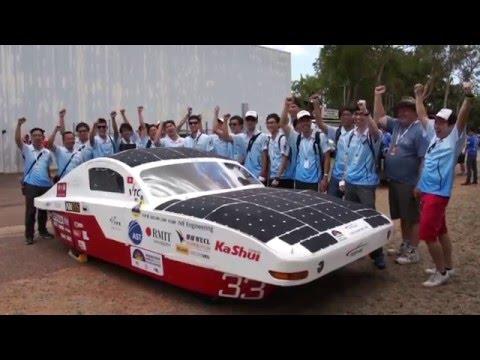 SOPHIE in World Solar Challenge 2015