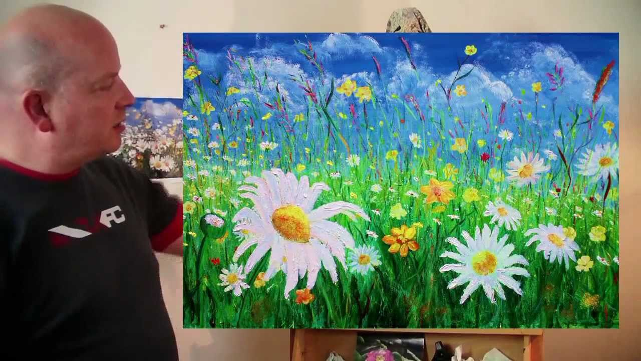 The daisy field acrylic painting by steve buchanan youtube the daisy field acrylic painting by steve buchanan izmirmasajfo Gallery