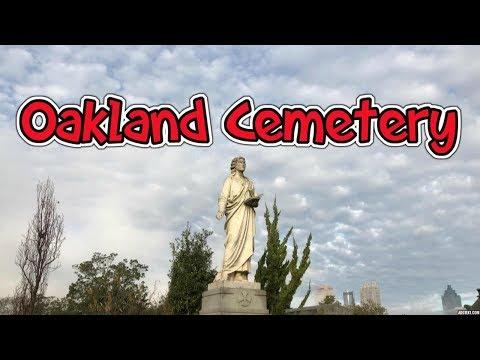 The Graves At Oakland Cemetery Atlanta Georgia