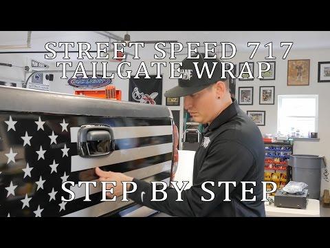 Street Speed 717 Dirty Max American Flag Wrap