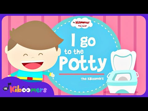 Potty Song | Potty Training | Potty Time | Potty Dance Song For Kids With Lyrics