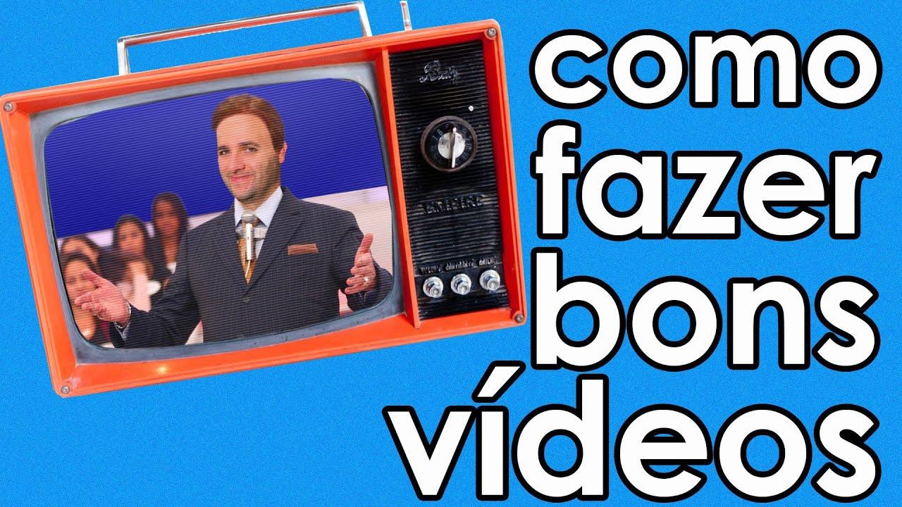 Como fazer bons vídeos (dicas para vídeo)   #0C77BF 1920x1080