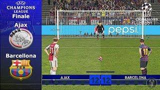 Ajax Vs Barcellona • Finale di Champions League (Calci di Rigore) • PES 2019 Patch [Giù]