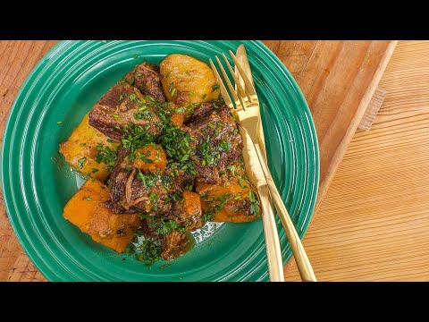 How To Make Beef, Bacon, Butternut And Beer Stew By Rachael
