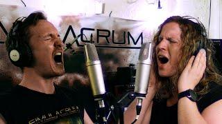 "Simulacrum – ""Arrhythmic Distortions"" – (Official Audio / B-Roll Studio Footage)"
