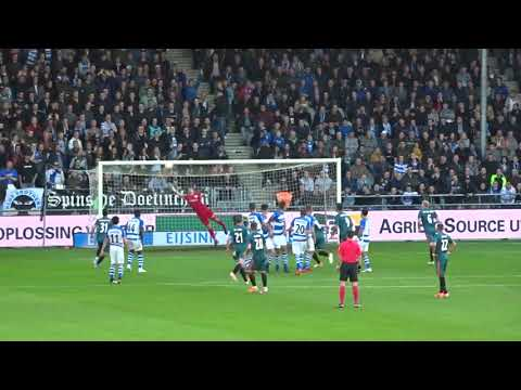 Doelpunt Lasse Schone 0-1 (De Graafschap - Ajax) 15.05.2019