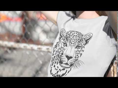 Leopard T Shirt Animal Print Design Wild Animal