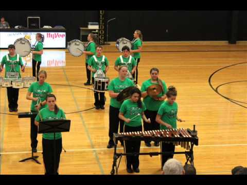 Leeton High School Drumline Trenton 2012