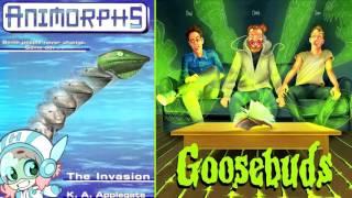 Animorphs - Goosebuds G.B.C. - Ep 17 (w/ Holly Conrad)