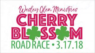 2018 Cherry Blossom Road Race Invitation