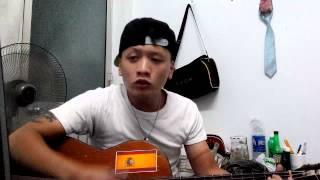Tóc Em Đuôi Gà Guitar cover by BC [Amateur]