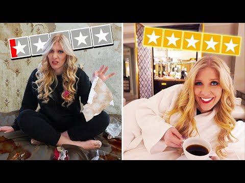 WORST Reviewed Hotel vs BEST Reviewed Hotel! *disgusting*