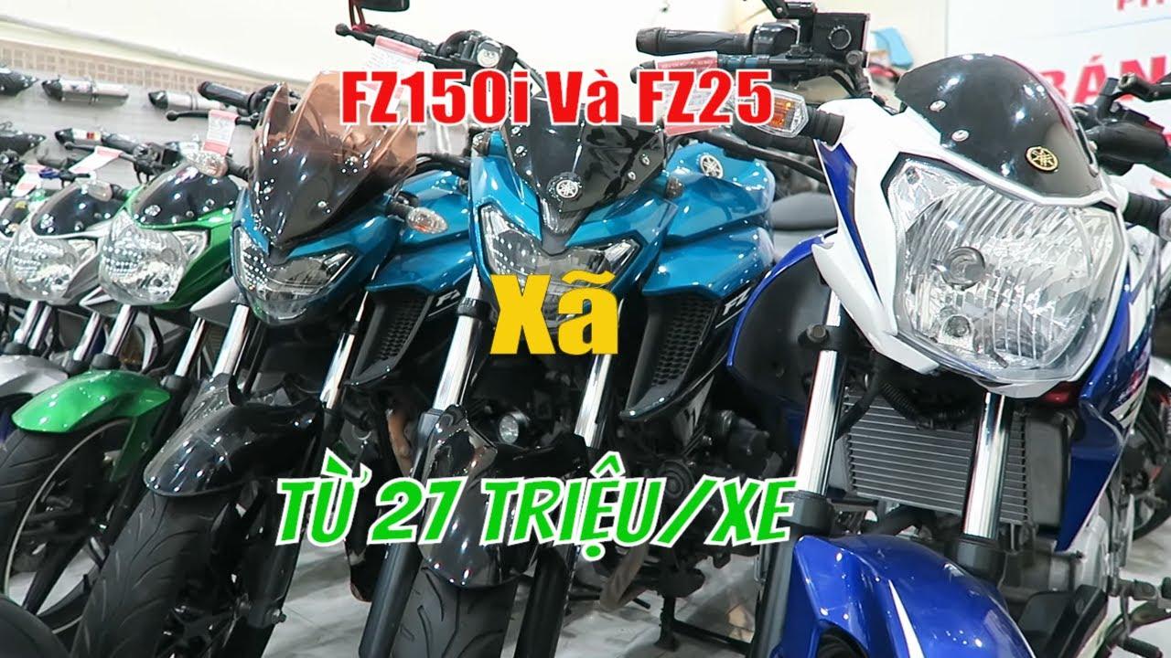 Xã Lô Moto Tồn Kho Yamaha FZ150I Và FZ25 Giá Rẻ Bao Hồ Sơ , Có Trả Góp   Thắng