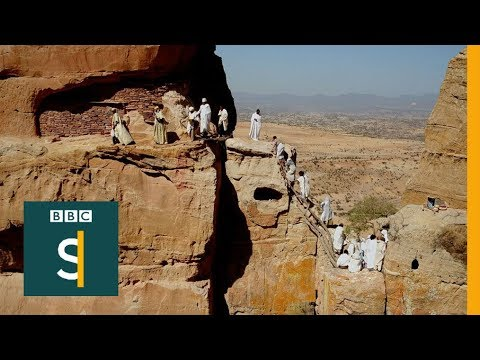 Is this the most extreme baptism? BBC Stories