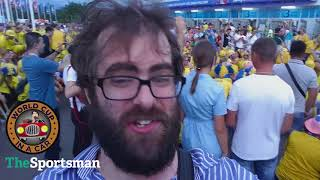 FIFA WORLD CUP 2018 IN A CAR DAY TEN: Sweden fans take over the World Cup!
