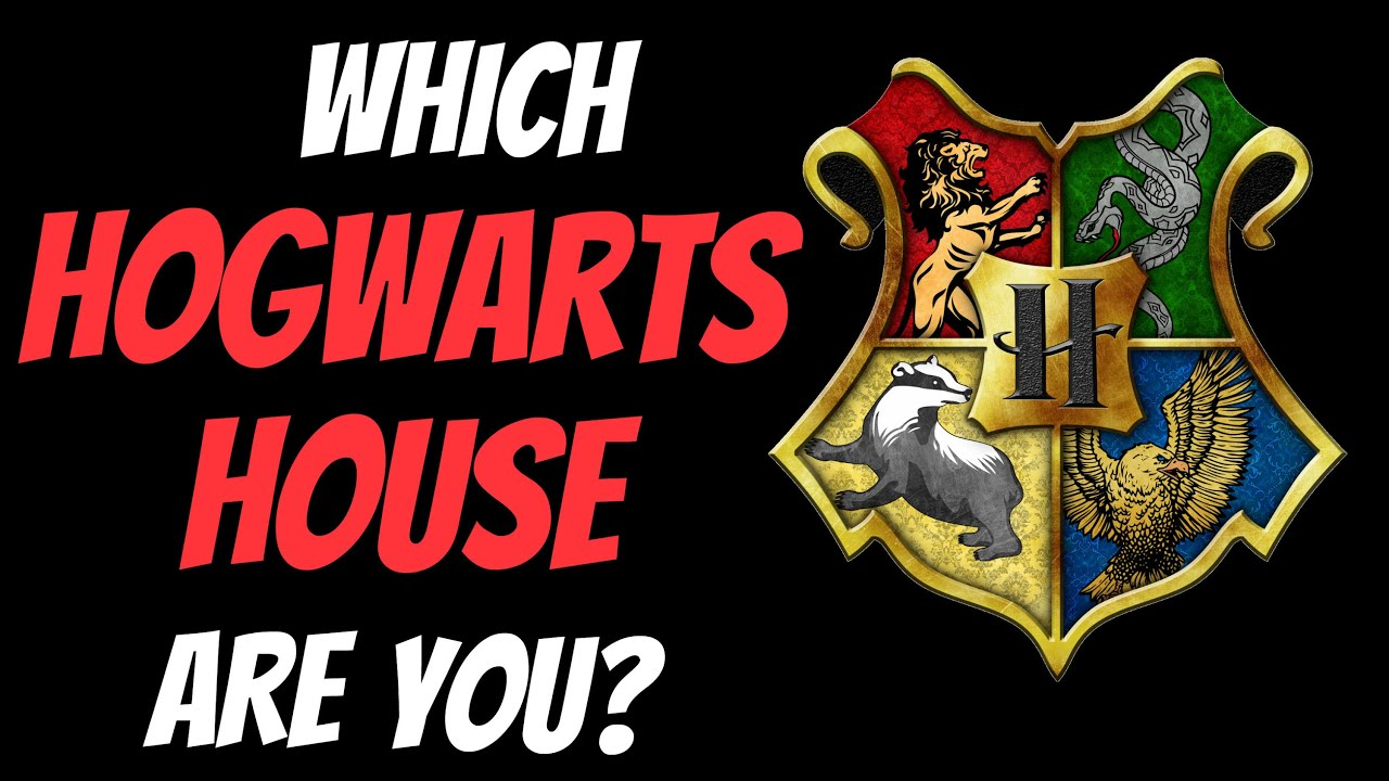 which hogwarts house are you in personality test youtube. Black Bedroom Furniture Sets. Home Design Ideas