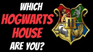 Which Hogwarts House Are You In?   Personality Test