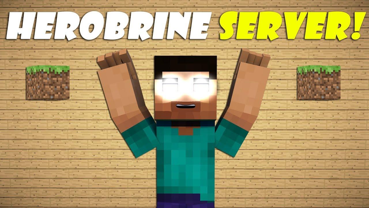 Says Server Herobrine