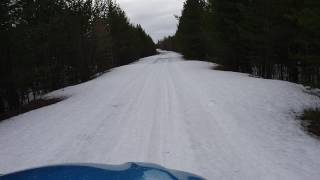 renault Kaptur siriuos. Тест штатной резины Pirelli Scorpion Verde на снегу. Часть 4