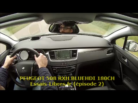 peugeot 508 sw 20 bluehdi 180ch eat6 pisode 2 youtube