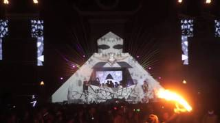Camp question mark? burning man 2016, beats antique set, third eye projections on visuals