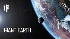 What If Earth Was As Big As the Sun?