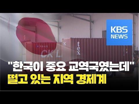 수출규제에 일본 지역 경제계 긴장...중소업체까지 타격 우려 / KBS뉴스(News)