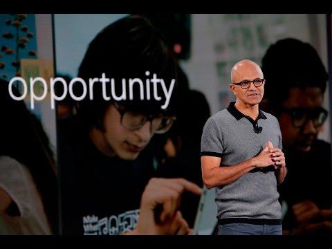 #MicrosoftEDU Event Keynote