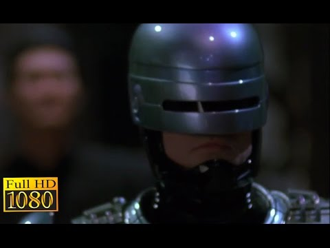 RoboCop 3 (1993) - Fight with Ninja Robot Scene (1080p) FULL HD