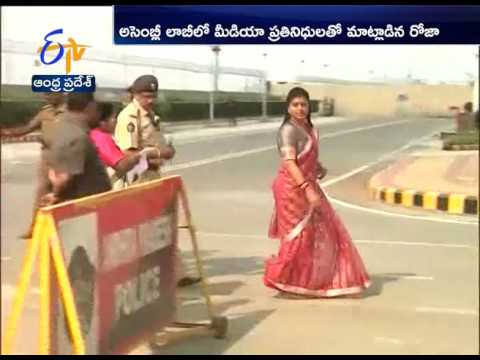 No Apology |  YCP MLA Roja | Indecent Behaviour In AP Assembly