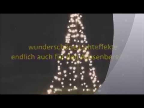 Kerstboom Verlichting Vlaggenmast Instructievideo - YouTube