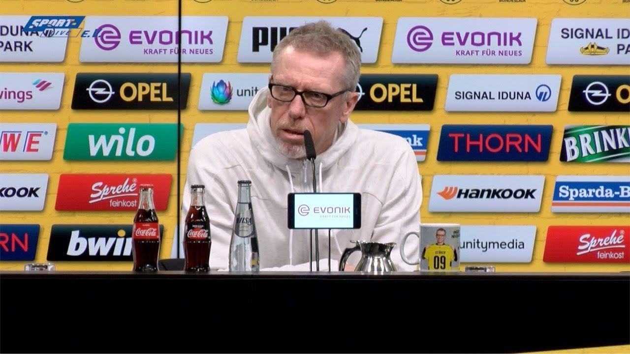 PK. vor dem Spiel Bor. Dortmund-Hannover 96