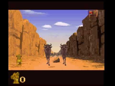 Image result for The Lion King Video Game Stampede