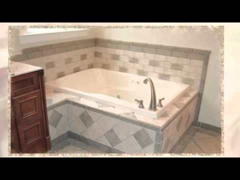 Drop In Bathtub Tile Ideas   YouTube