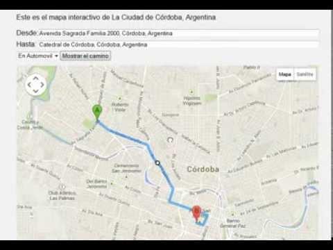 Mapa De La Ciudad De Cordoba: Guia De Uso