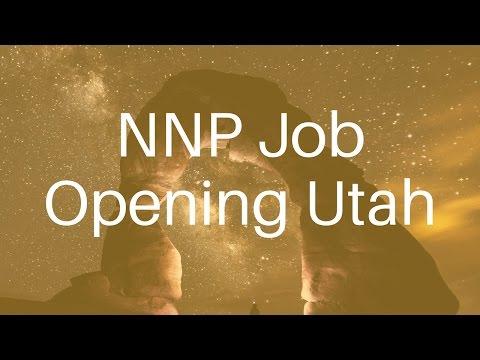 NNP Job Opportunity Utah   1700