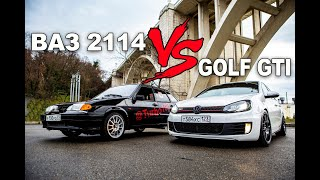 ВАЗ 2114 (240 лс) vs VOLKSWAGEN GOLF GTI (360 лс)