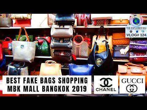BAG SHOPPING IN BANGKOK | FAKE BAGS IN MBK MALL | BANGKOK SHOPPING 2019
