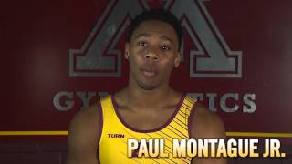 Gopher Men's Gymnastics Speed Dating: Video #3