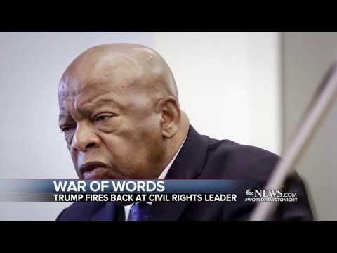 Civil Rights Leader Rep. John Lewis Says He Doesn't See Donald Trump as a 'Legitimate President'